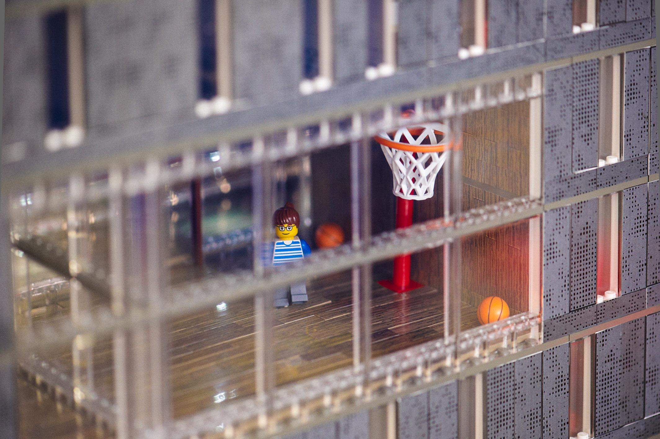 Lego Maquette Detail 2