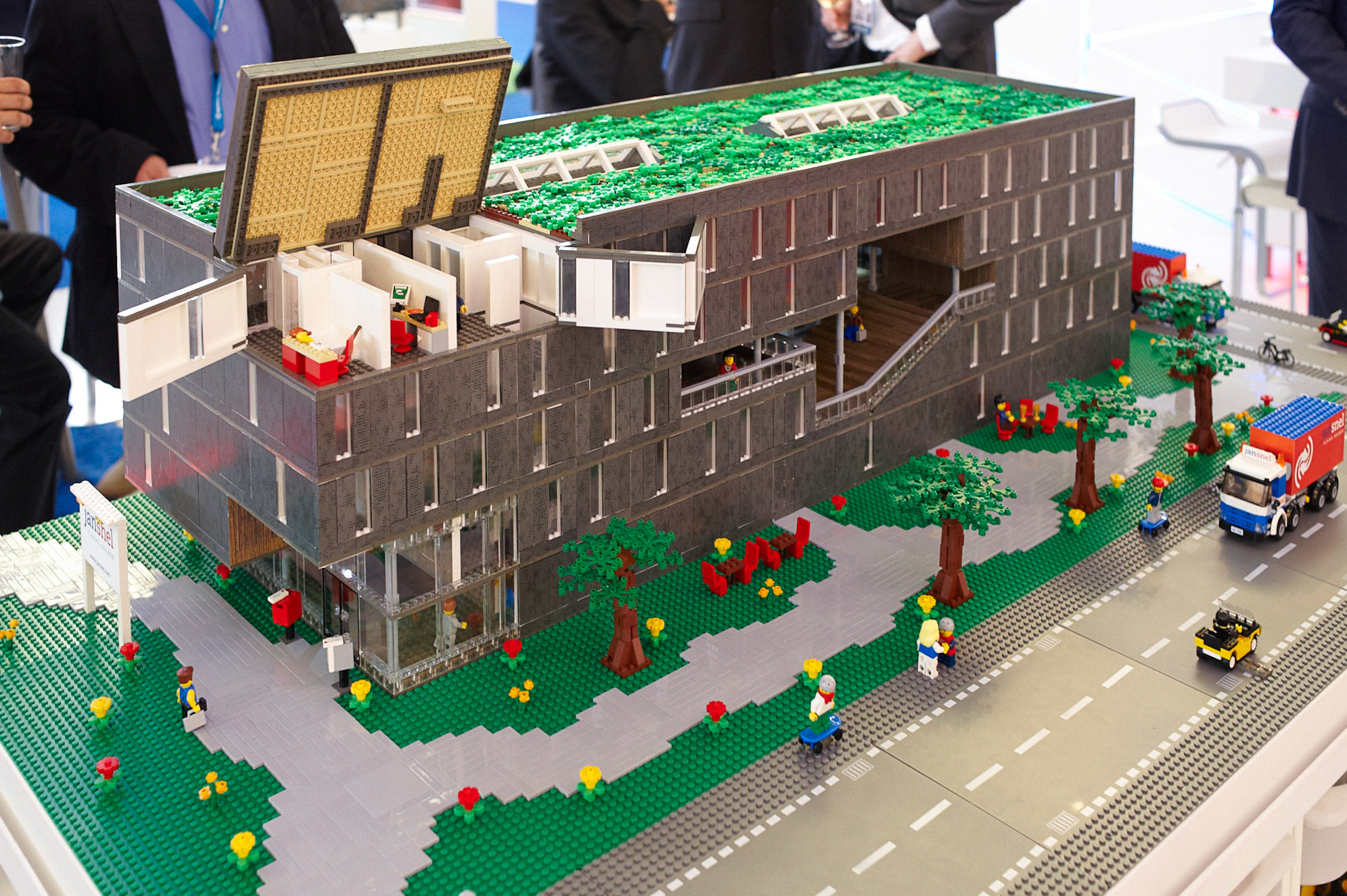 Lego Maquette Geopend