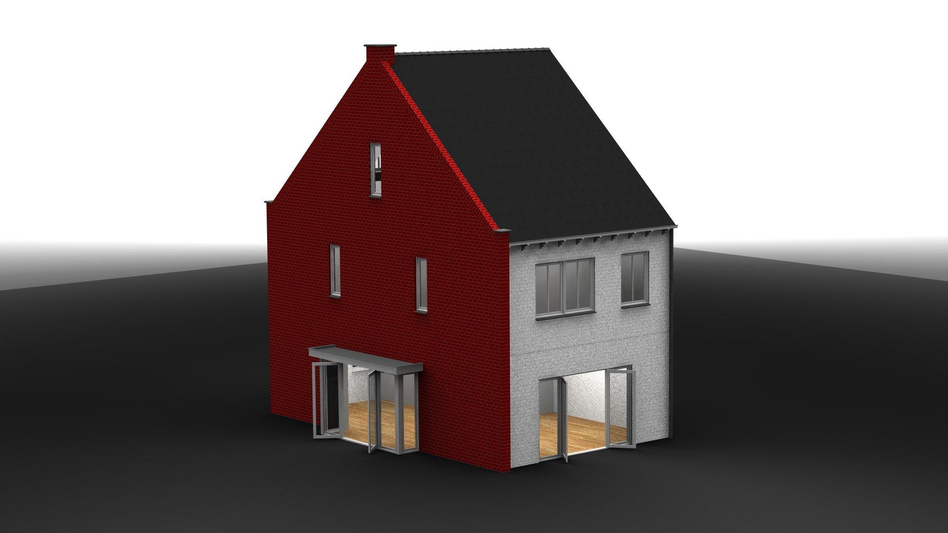 Huis achterkant